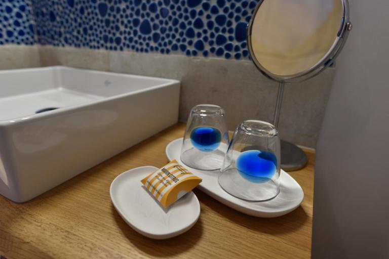 Salle de bain savon