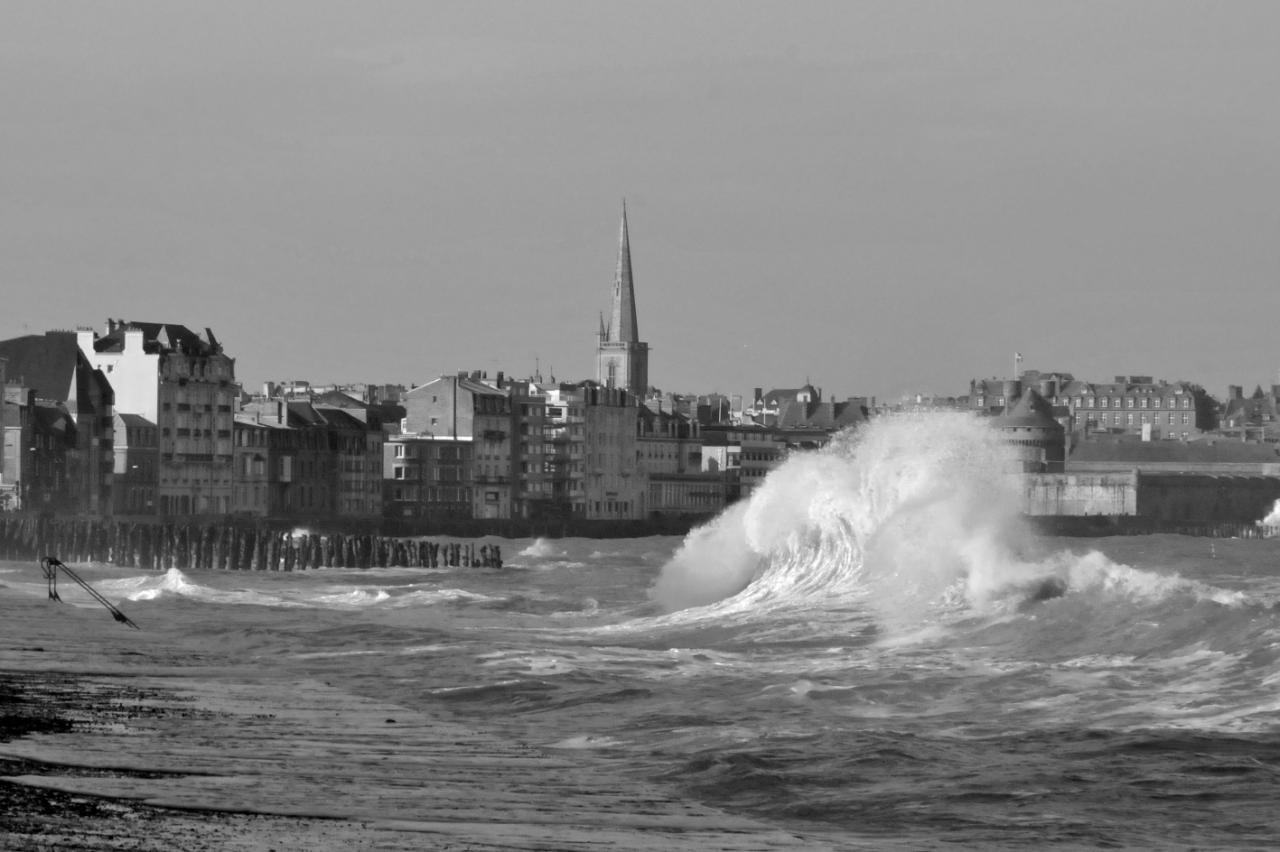 Springflut St Malo